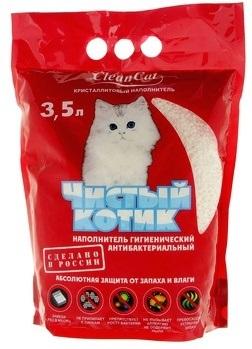 Наполнитель 'Чистый котик' 5 л. (кристаллит)