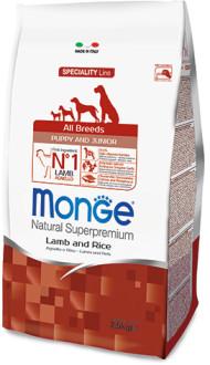 Monge Dog Speciality Puppy&Junior 2,5 кг. д/щенков всех пород Ягненок, рис